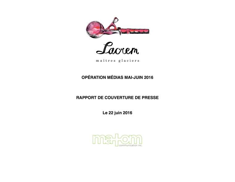 Rapport de couverture JUIN2016_LACREM